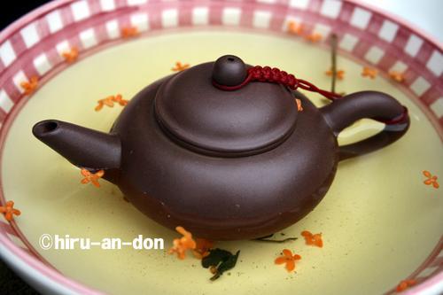 金木犀と文山包種茶「清風」