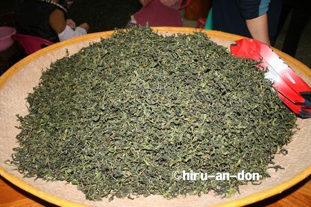 文山包種茶製茶実習