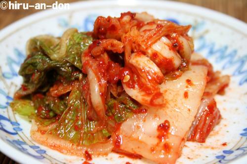 キムチの味富さんの白菜キムチ 1kg/1700円(税込)