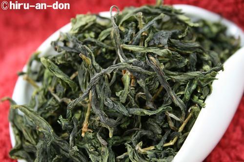 文山包種茶製茶実習 2007年 冬茶 その2のその壱に作ったお茶