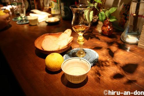 COSMIC SOUL 酒と台湾茶と小田原の黄金柑と自家製パン