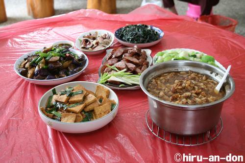 文山包種茶製茶実習 2008年春茶 家庭料理列伝