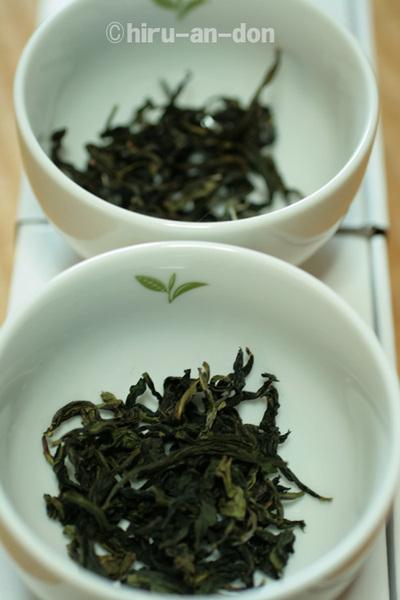 文山包種茶 飲み比べ