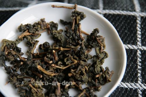 2010年 春茶 文山包種茶製茶実習で作ったお茶