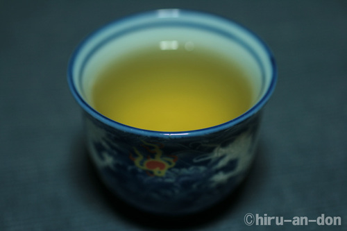 阿里山茶葉生産合作者民國99年(2010年)春季優良比賽優良獎 茶杯にて