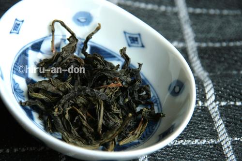 2008年文山包種茶製茶実習で作ったお茶