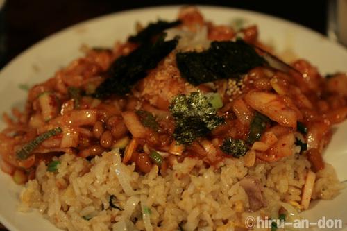 納豆炒飯 Mサイズ700円